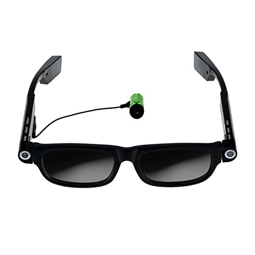 ICE Theia Glares - Wearable Video Camera Glasses with Drive Safe Assist