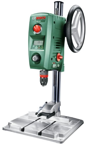 Bosch Bench Drill PBD 40 (710 W, Maximum Drilling Diameter In Steel/Wood: 13 mm/40 mm, Drilling Stroke 90 mm, In Cardboard Box)