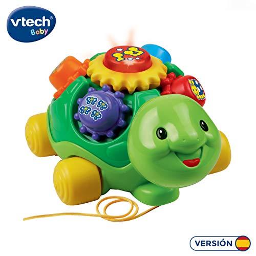 VTech- Tortuga Infantil interactiva con luz y Voz (3480-143122)