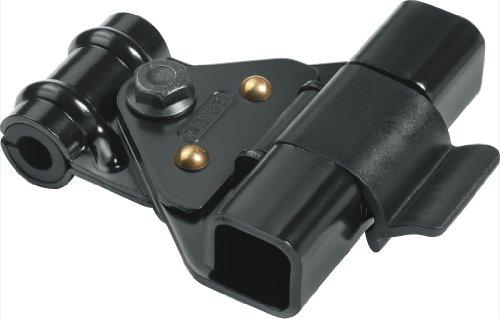 ABUS 23763 hangslot, zwart, set van 2