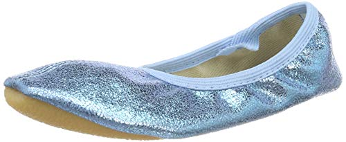 Beck Mädchen Basic Gymnastikschuhe, Blau (Hellblau 04), 33 EU