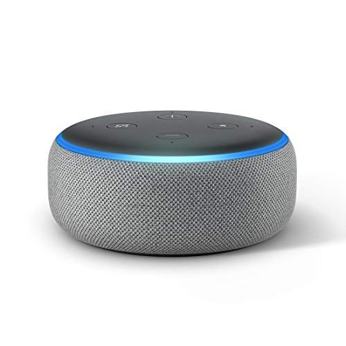 Echo Dot (Grey) bundle with Wipro WiFi universal remote