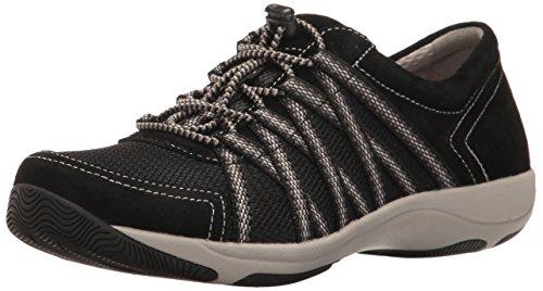 Dansko Women's Honor Black Suede Comfort Shoes 6.5-7 M US