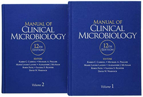 Compare Textbook Prices for Manual of Clinical Microbiology ASM Books 12 Edition ISBN 9781555819835 by Carroll, Karen C.,Pfaller, Michael A.,Landry, Marie Louise,McAdam, Alexander J.,Patel, Robin,Richter, Sandra S.,Warnock, David W.