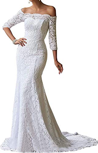 Lace Off the Shoulder Wedding Dress Kleinfeld