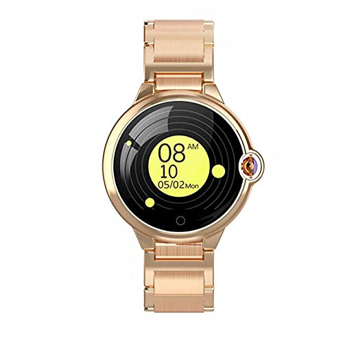 HYK Nuevo Hyperboloid DR88 Smart Watch Actividad Deportiva Bluetooth Tracker Impermeable Tasa cardíaca Presión Arterial Monitoreo de sueño Largo Standby Time Watch,C