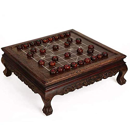 AJH Xiangqi Tisch Chinese Chess Set Strategie Brettspiele, Heimspiele Classic Educational für 2 Spieler