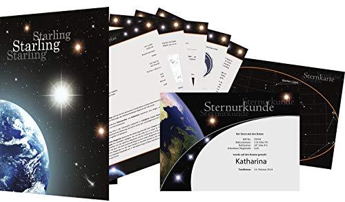 Sterntaufe Starlet - Einen echten Stern kaufen - Sterntaufe verschenken - Stern benennen
