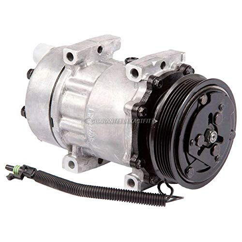 For Jeep Wrangler & Cherokee AC Compressor & A/C Clutch - BuyAutoParts 60-01306NA NEW