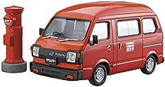 青島文化教材社 1/24 ザ・モデルカーシリーズ SP スバル K88 サンバー ハイルーフ4WD 1980 郵便配達車 プラモデル