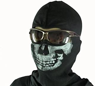 MW2 ゴースト風 スカルマスク(バラクラバ) 骸骨フェイスマスク 目出し帽 コールオブデューティ Call of Duty Modern Warfare 2 G-30