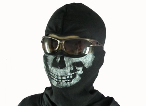 Mw2 Ghost Wind Skull Mask Balaclava Skull Skeleton Face Mask