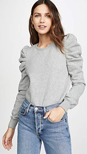Rebecca Minkoff Women's Janine Sweatshirt, Heather Grey, XX-Small