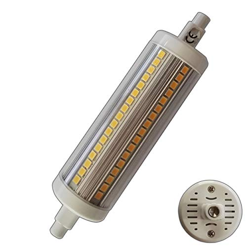 R7s LED 78 of 118 mm x 15 mm lamp dimbaar mini zeer klein warmwit staaflamp
