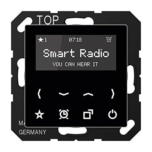 Jung Rad A 508 SW Smart Radio Serie A schwarz