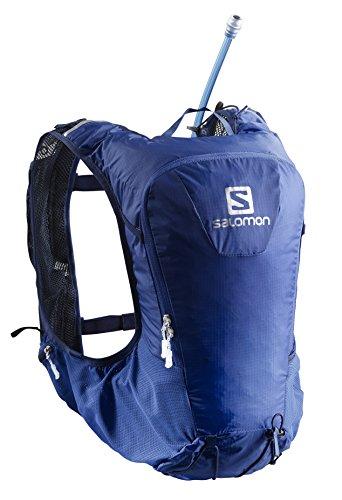 Salomon Unisex Skin Pro 10 Set Backpack, Surf The Web, Medieval Blue, One Size