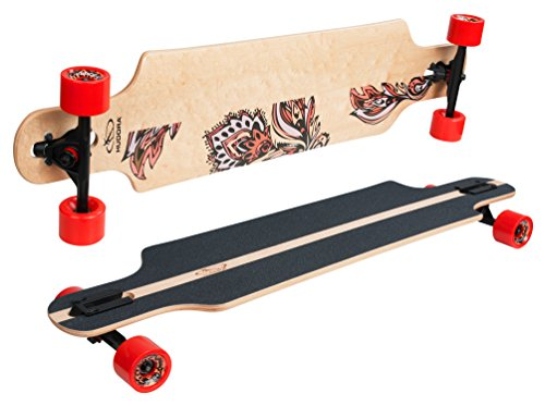 Hudora Longboard monopatín