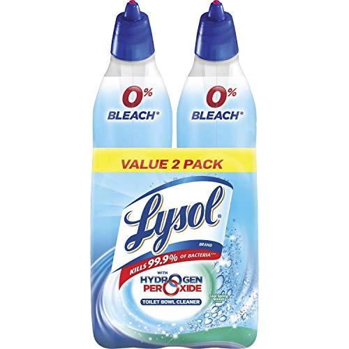 Lysol Bleach Free Toilet Bowl Cleaner, 48oz (2X24oz), w. Hydrogen Peroxide