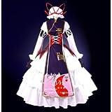 LUGANO 東方Project 東方永夜抄 八雲紫風 クリスマス ハロウィン イベント仮装 コスチューム コスプレ衣装 (男L)