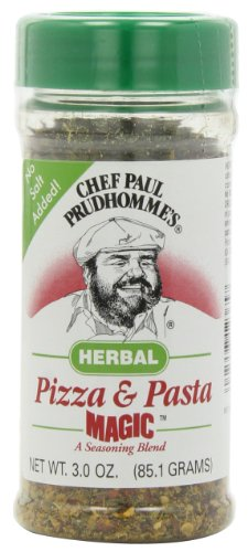 Magic Seasoning Blends Herbal Pizza and Pasta Magic, 3-Ounce Bottles (Pack of 6)