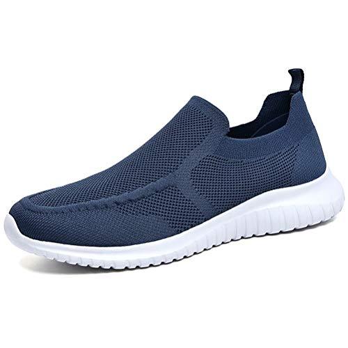 Konhill Zapatillas deportivas transpirables para hombre, Azul (A/Marina), 44 EU