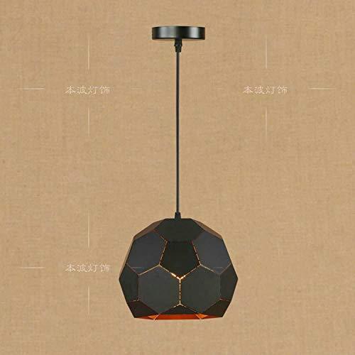 Lámpara de araña industrial E27 Vintage Colgante Luz de techo Restaurante Droplight Metal Lampshade para comedor Hall Hotel Restaurante Altura Ajustable (Color: Amarillo)