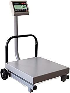 TORREY FS500/1000 Digital Receiving Scale, Rechargeable Battery, Robust Steel Construction, Toggles between kg and pounds, 500 kg/1000 lb, Gray