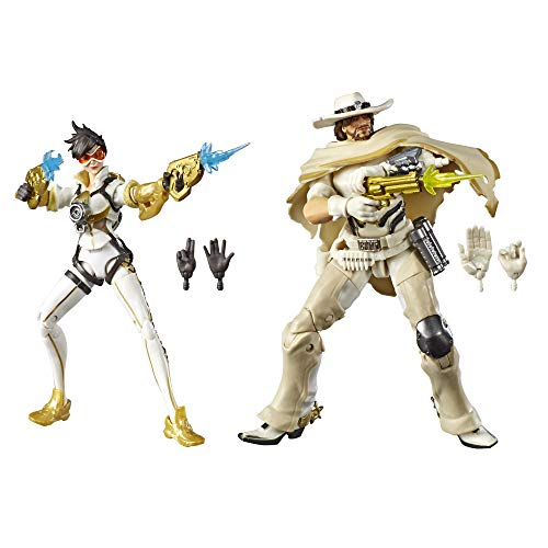 Hasbro Overwatch Ultimate Series Tracer & McCree Fual Pack 6' Collectible Action Figures