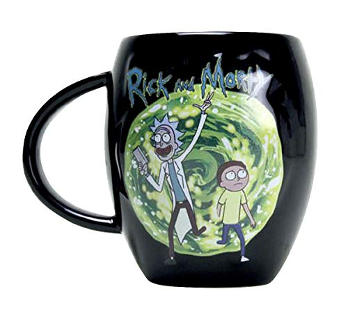 Close Up Tasse XL Ovale Rick and Morty - Portail