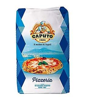 Antimo Caputo Pizzeria Flour 55 LB Blue Bulk Bag - Italian Double Zero 00 - All Natural Wheat for Authentic Pizza Dough Bread & Pasta