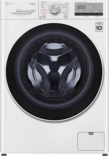 LG F2WV4S7S0E lavatrice Libera installazione Caricamento frontale Bianco 7 kg 1200 Giri/min A+++-20%