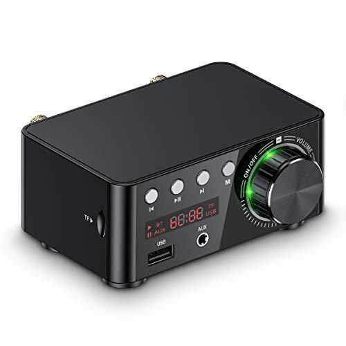 Mini Bluetooth 5.0 eindversterker USB muziekspeler stereo Home / Car Audio Amplifier