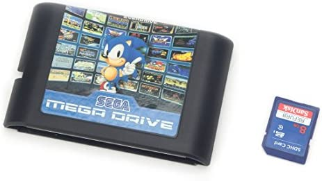 Genesis MegaDrive 820 in 1 Game Cartridge for USA Japanese European Console product image