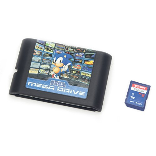 Genesis MegaDrive 820-in-1 Game Cartridge for USA, Japanese European Console