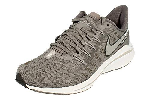 Nike Women's Air Zoom Vomero 14 Running Shoes, Grey (Gunsmokesea/Atmosphere Grey/Oil Grey/White 001), 2.5 UK