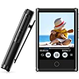 72GB MP3 Player, MP3 Player with Bluetooth 4.2, 2'' HD Touch Screen, Portable Bluetooth Music Player with Clip, FM Radio, Voice Recorder, Sport Pedometer, HiFi Lossless Sound, Expandable up to 128GB