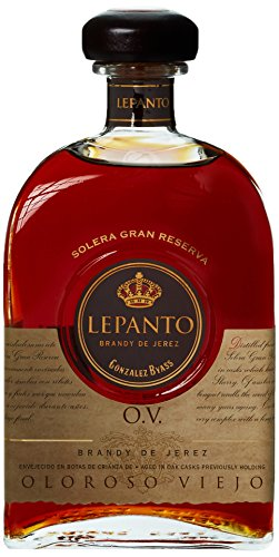 Lepanto, Solera Gran Reserva Brandy de Jerez, Oloroso Viejo, Bodega González Byass, in Geschenkverpackung (1 x 0.7 l)