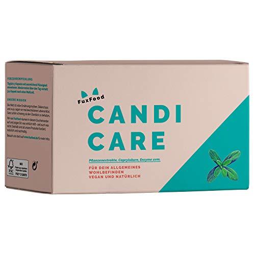 CandiCare | Das 100% natürliche Kombi-Präparat – 12 abgestimmte Zutaten (u.a. Oregano, Lapacho-Rinde, Caprylsäure, L. Acidophilus) | Nachhaltig aus Deutschland | 30-Tage-Complex-Paket