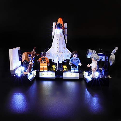BRIKSMAX Kit di Illuminazione a LED per Lego Ideas Le Donne della NASA,Compatibile con Il Modello Lego 21312 Mattoncini da Costruzioni - Non Include Il Set Lego.
