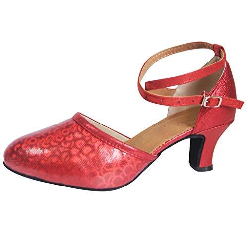 Zapatos de Baile dicomi salón de Baile para Mujeres Tango Salsa Latina Zapatos Lentejuelas Zapatos sociales