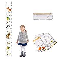 Funmix 子供身長計 身長測定器 壁掛け 身長チャート 身長測定 子供の成長記録 子供部屋の装飾 測定範囲0-180cm以上 北欧インテリア おしゃれ 新年 出産祝い クリスマスプレゼント