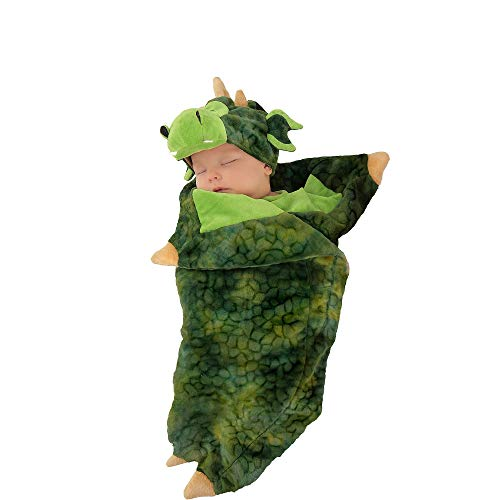 Princess Paradise Baby Deluxe Swaddle Wings, Darling Dragon, 0-3 Months