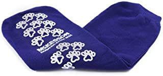 Slipper Socks, McKesson Terries Bariatric, Extra Wide Royal Blue Above The Ankle, 40-1099 - 1 Pair