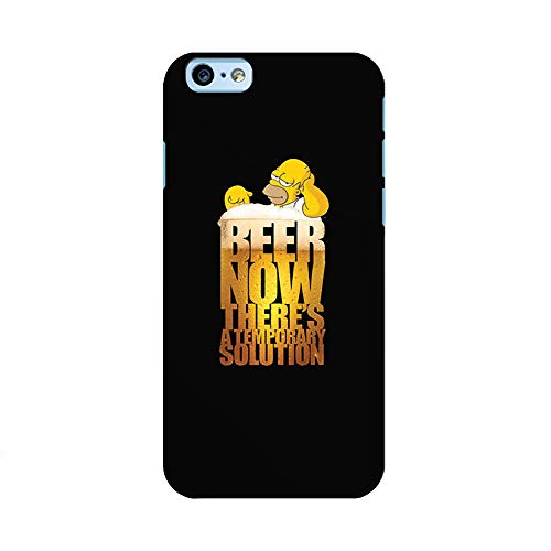 EREMITI JEWELS Cover Personalizzata Beer Philosophy Temporary Solution Compatibile iPhone (iPhone XR)