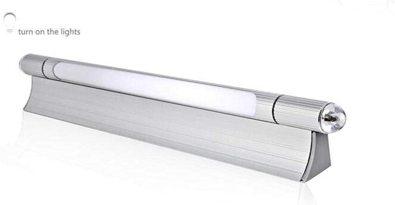 SED Bad Spiegel-LED-Wasser-Nebel-Lampe Minimalistischen Modernen Badezimmerspiegel Frontleuchten Badezimmer Wandleuchte - Make-up-Spiegel Scheinwerfer,51cm