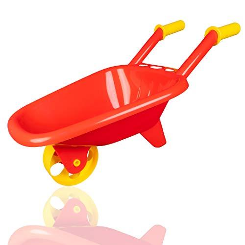 Plitsch Platsch Kinder Schubkarre Sandspielzeug | Strandspielzeug | Garten
