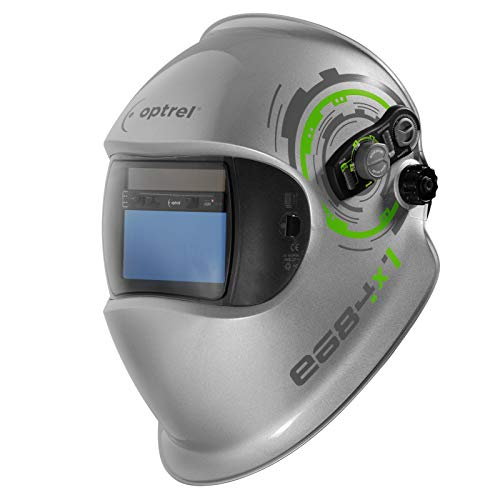 Optrel e684 Series Silver Welding Helmet