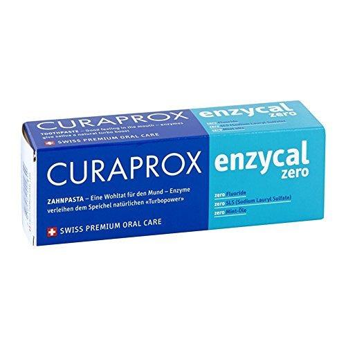Curaprox enzycal zero Zahnpasta 75 ml by Curaprox