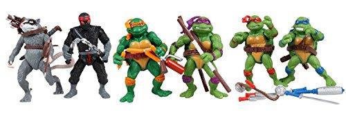 6 Tortugas Ninja figuras de acción