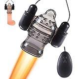 Massagegerät für Männer Beine Kilbas mit Kabelsteuerung 2xAAA Batterien TPE Wasserdicht Massage Massager PHS